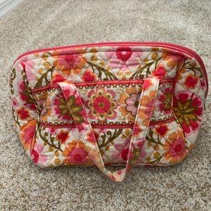 Vera Bradley Large Cosmetic Makeup Bag